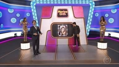 Silvio ajuda Adnet a selecionar convidados para o seu programa - Marisa Orth, Karol Conka e Welder Rodrigues são selecionados através de um game show