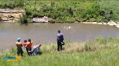 Pai tenta salvar filho que caiu no rio e morre afogado - Foi em Ponta Grossa. Em Cascavel um homem também morreu afogado.