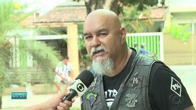 Grupo de motoqueiros faz campanha para incentivar doação de sangue - O repórter Tony Medeiros traz mais informações.