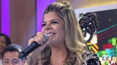 Paula Mattos canta 'Coisa de Ex' - Cantora lança DVD com várias participações