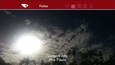 Confira a previsão do tempo no Sul do Espírito Santo para esta sexta-feira (3) - Em Jerônimo Monteiro, tempo será de sol entre poucas nuvens.
