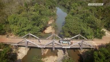 Aldeia Indígena No Pantanal