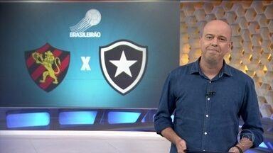 João Paulo reforça o Botafogo contra o Sport pelo Campeonato Brasileiro - Botafogo enfrenta o Sport pela 33ªrodada do Campeonato Brasileiro, na Ilha do Retiro.