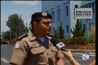 Autoridades policiais falam sobre investigações de ataque à Rodoban em Uberaba - Segundo delegado-chefe do 5º Departamento de Polícia Civil, pedido de transferência de três suspeitos presos em Goiás já foi feito.