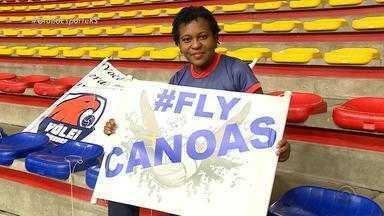 Vôlei Canoas enfrenta Cruzeiro com apoio especial nas arquibancadas - Assista ao vídeo.
