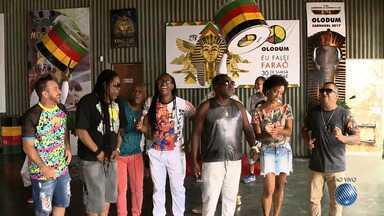 Olodum comemora os 30 anos do samba reggae com 120 percussionistas e estrelas da música - Confira os detalhes da grande festa dessa noite.