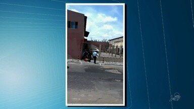 Homem é brutalmente agredido por quatro policiais em Pacatuba - Confira mais notícias em G1.Globo.com/CE