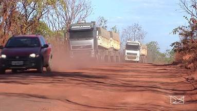 Pesquisa mostra que a maioria das rodovias do Maranhão estão ruins ou péssimas - Principais trechos com as piores avaliações na pesquisa da Confederação Nacional dos Transportes (CNT) são de rodovias estaduais
