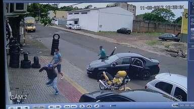 Empresário reage a tentativa de assalto e é assassinado em Foz do iguaçu - Ele era dono de uma casa de câmbio