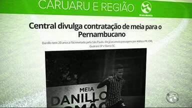 Central apresenta reforços para o Campeonato Pernambucano - Competição começa em janeiro