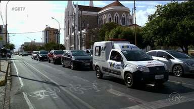 Faixas exclusivas para ônibus foram retiradas da Avenida Guararapes em Petrolina - O objetivo é melhorar o fluxo de veículos