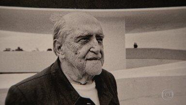 Oscar Niemeyer é homenageado em exposição em Botafogo - Uma exposição na Pinakotheke Cultural, em Botafogo, na Zona Sul do Rio, celebra os 110 anos de nascimento do arquiteto Oscar Niemeyer. Ele faria aniversário no dia 15 de dezembro.