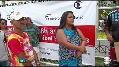 Projeto Colmeia leva ações de saúde e cidadania ao centro do Recife - Mobilização ocorre no bairro de Santo Amaro