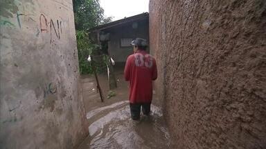 Defesa Civil ainda não concluiu mapeamento das áreas de risco do DF - Moradores da Vila Cahuy, que há quase dois anos, tiveram as casas inundadas, enfrentam novamente o medo de perder tudo.