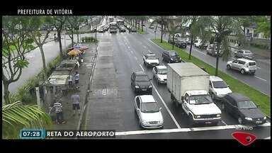 Confira imagens do trânsito na Grande Vitória nesta sexta-feira (10) - Câmeras mostram as principais vias da região.