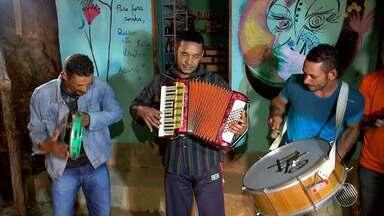 JM no Campo: música e culinária são alguns dos destaques da cultura do Vale do Pati - Família mantém a tradição do forró e se delicia com pão artesanal.