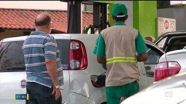 Altos reajustes no combustível desagrada a clientes e empresários do Piauí - Altos reajustes no combustível desagrada a clientes e empresários do Piauí
