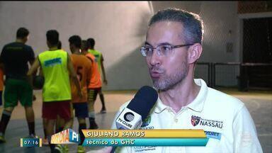 Caic Balduíno se prepara para competição nacional de handebol em Brasília - Caic Balduíno se prepara para competição nacional de handebol em Brasília