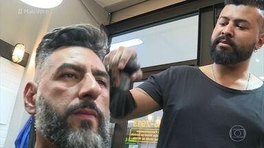 Jorge Topete cultiva o penteado há 15 anos - Cuidado do motorista com o cabelo já virou lenda entre os amigos e a família