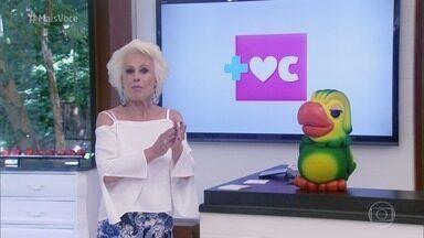 Mais Você - Programa de sexta-feira, 10/11/2017, na íntegra - Ana Maria Braga fala sobre a moda dos topetes na cabeça dos homens e se diverte com desafio de trava-línguas. Na culinária, a apresentadora prepara maçã frita