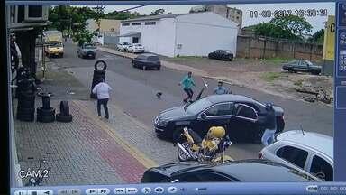 Foz do Iguaçu teve dois homicídios de empresários em uma semana - Os dois crimes foram no local de trabalho das vítimas.