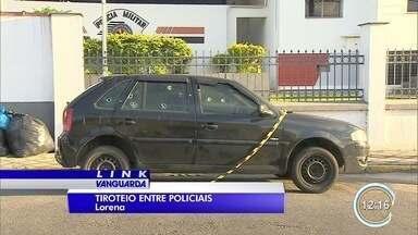 Policial é baleado por PM em Lorena - Os dois agentes brigaram no trânsito e houve troca de tiros.