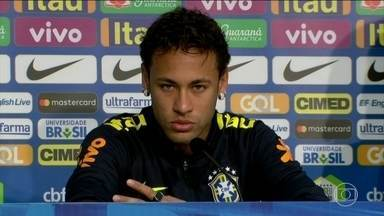 Após amistoso, Neymar desabafa sobre possível polêmica no Paris Saint Germain - Após amistoso, Neymar desabafa sobre possível polêmica no Paris Saint Germain