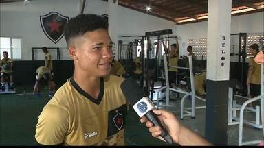 Promessa para 2018, Fillipi Pires é o destaque do sub-20 do Belo para Copa do Nordeste - Atacante foi o artilheiro do Botafogo-PB no título do Campeonato Paraibano Sub-19 e agora se prepara para as últimas competições antes de subir para o profissional