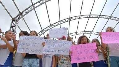 Escolas de Cuiabá e VG esperam finalização de obras em quadras esportivas - Escolas de Cuiabá e VG esperam finalização de obras em quadras esportivas.