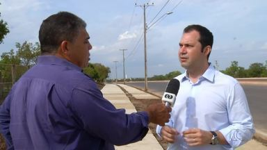 Moradores temem que obras de pavimentação seja paralisadas na NS-15 - Moradores temem que obras de pavimentação seja paralisadas na NS-15