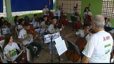 Ação Social pela Música em João Pessoa - O projeto tem atuação no Alto do Mateus.