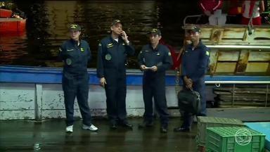 Continuam desaparecidas cinco vítimas do naufrágio em Angra dos Reis, RJ - Embarcação naufragou na noite de quarta-feira (8); desde então, buscas estão sendo feitas no mar da Costa Verde do Estado.