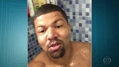Polícia prende um dos principais aliados de Rogério 157, que disputa o controle da Rocinha - Traficante conhecido como Cachorrão ostentava joias e dinheiro nas redes sociais. Ele publicou até vídeo tomando banho.
