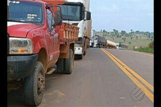 Protesto de pescadores já dura três dias na rodovia transamazônica, no Pará - Os manifestantes são contra suspensão do pagamento do seguro defeso por 60 dias.
