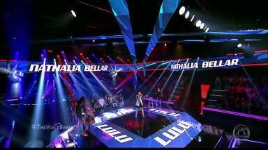JPB2JP: Veja como foi a participação de Nathália Bellar no The Voice Brasil - Não conseguiu avançar de fase.