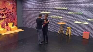 Confira o ensaio de Cris Vianna para o 'Dança dos Famosos' - Atriz se prepara para mais uma apresentação