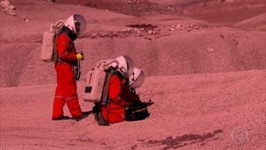 Pesquisador brasileiro visita estação no deserto que simula planeta Marte - Espaço está localizado no estado de Utah, nos Estados Unidos. De volta ao Brasil, cientista pretende reproduzir a experiência no Rio Grande do Norte.