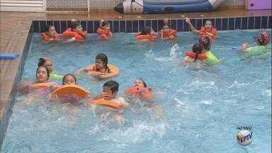Confira dicas de segurança contra afogamentos - É importante nunca deixar crianças sozinhas, mesmo que elas saibam nadar.