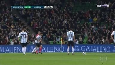 Argentina perde amistoso para Nigéria, na Rússia - Argentina perde amistoso para Nigéria, na Rússia