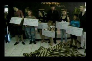 Campanha ajuda crianças e adolescentes em Horizontina, RS - Foram arrecadados 60 mil reais para as famílias para ajudar no tratamento do câncer.