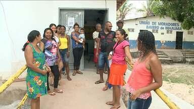 Escola em Inhauma, em São Luís, ainda está em reforma e prejudica alunos - Escola em Inhauma, em São Luís, ainda está em reforma e prejudica alunos. Prédio improvisado é ruim. Prefeitura é a responsável pelo problema.