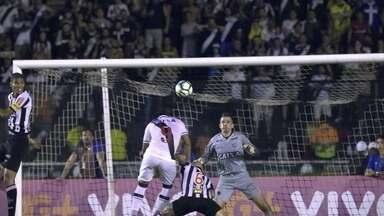 Os gols de Vasco 1 x 1 Atlético-MG pela 35ª rodada do Brasileirão 2017 - Vasco sai na frente, mas Fred empata na etapa final.