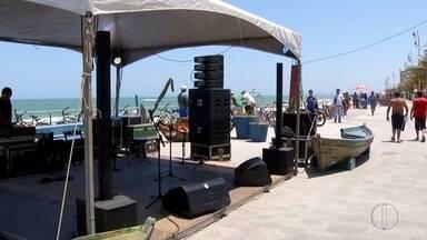 Festival gastronômico na Praia dos Cavaleiros, em Macaé, RJ, começa nesta quarta - Assista a seguir.