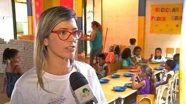 Projeto leva alimentação saudável para escolas - Saiba mais em g1.com.br/ce
