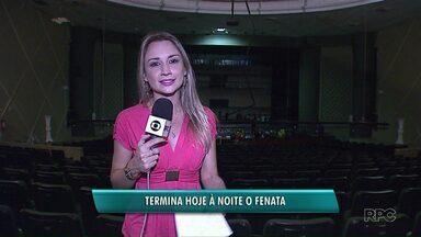Termina hoje (16) o FENATA em Ponta Grossa - Em dez dias de programação, foram cerca de 200 espetáculos.