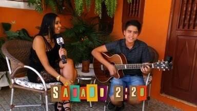 Chamada: Tem o talento musical de Luan Rocha neste sábado (18) - Jovem do Cariri é aposta do sertanejo cearense