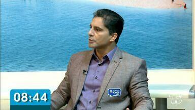 Nesta quinta o candidato à reitoria da Ufopa, Hugo Alex Diniz foi entrevistado no JT1 - Chapa 'Novos rumos' assegura que sua prioridade número um vai ser o investimento em pessoas.