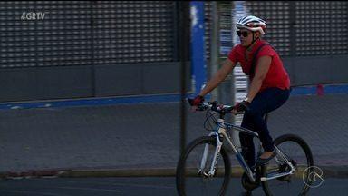 Ciclistas reclamam da falta de estacionamento em Petrolina - O transporte tem sido uma opção sustentável