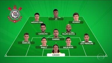 Com título garantido, Fábio Carille define time misto para enfrentar o Flamengo - Com título garantido, Fábio Carille define time misto para enfrentar o Flamengo