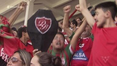 Último acesso da Portuguesa Santista aconteceu há um ano - A Briosa subiu da segundona para a série A-3 do Campeonato Paulista.